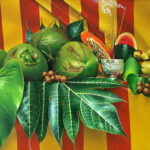 Oil painting by Ricardo Casal.