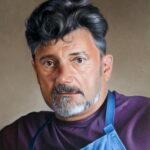 Auto portrait by Ricardo Casal